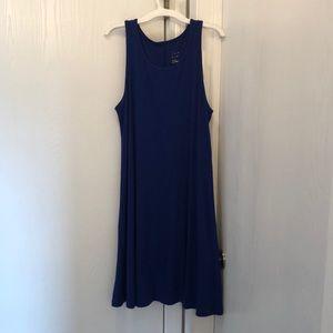 Blue, sun dress